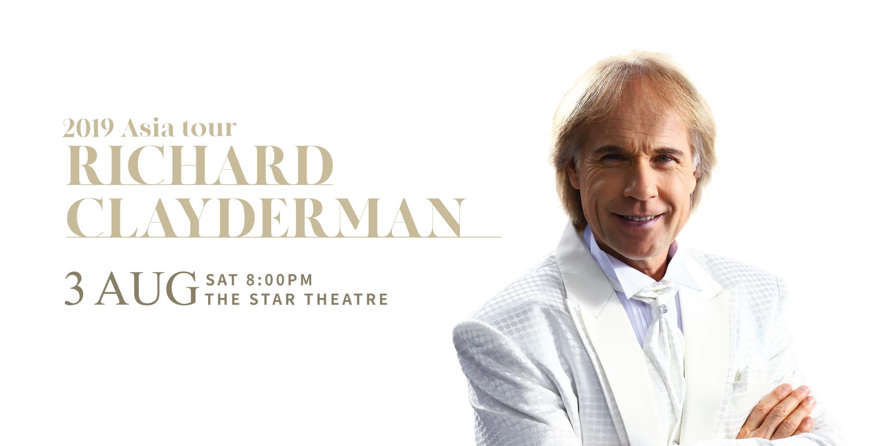 Richard Clayderman Asia Tour 2019