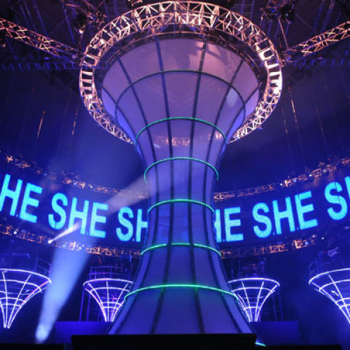 S.H.E Is The One World Tour Concert Singapore 2010