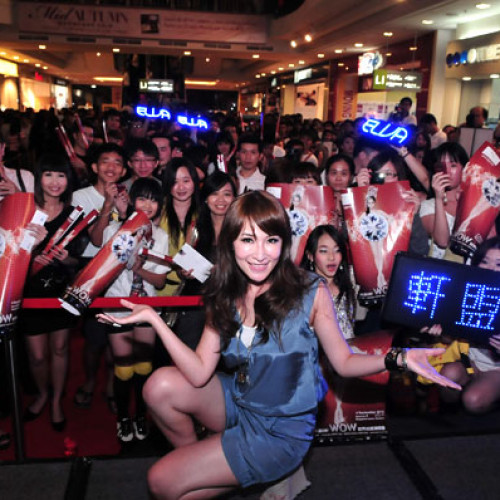 2010 Elva Hsiao WOW World Tour Autograph Session