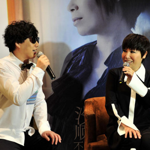 Tiger Huang and Ricky Hsiao 2013 True Voice Press Conference