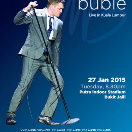 Michael Bublé Live in Kuala Lumpur