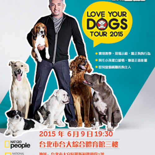 Cesar Millan LIVE – Love Your Dogs Tour 2015