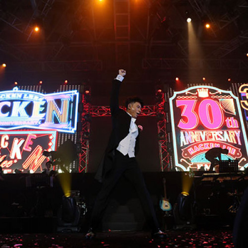 Hacken Lee 30th Anniversary Concert in Malaysia