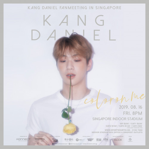 KANG DANIEL FAN MEETING: COLOR ON ME IN SINGAPORE