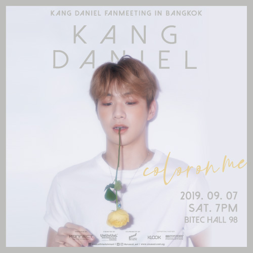 KANG DANIEL FAN MEETING: COLOR ON ME IN BANGKOK