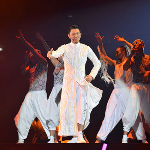 My Love Andy Lau 刘德华 World Tour · 新加坡站