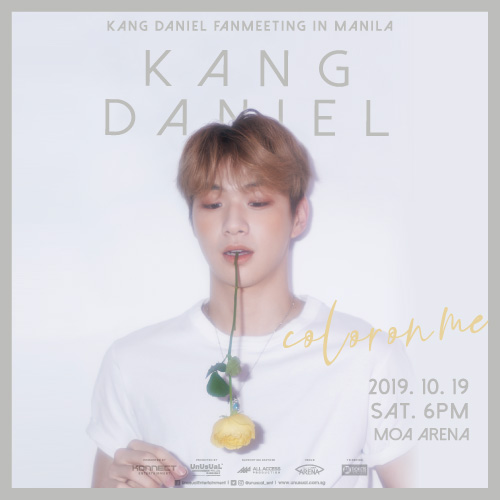 KANG DANIEL FAN MEETING: COLOR ON ME IN MANILA